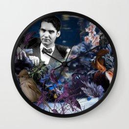 Dalí & Lorca by Be Men Wall Clock