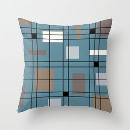 1950's Abstract Art Throw Pillow