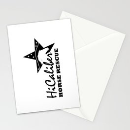 High Caliber Horse Rescue Stationery Cards