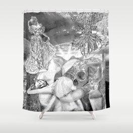 The constellation erotique 3321 Shower Curtain