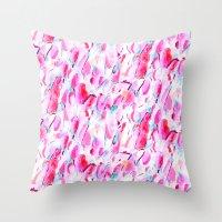 kandinsky Throw Pillows featuring Synesthete by Jacqueline Maldonado
