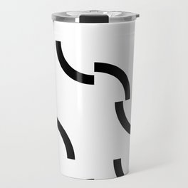 Athos - Broken circumferences Travel Mug