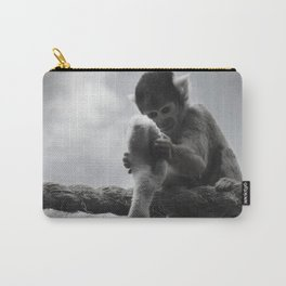 London Monkey Sock Carry-All Pouch