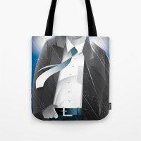 sin city Tote Bags featuring Sin City-Hartigan by Szoki