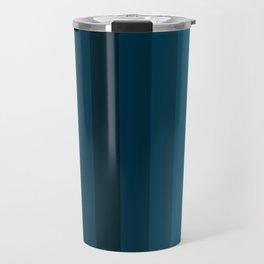 Blue Gradient Travel Mug