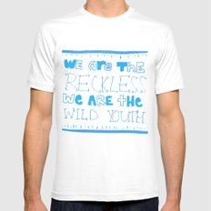Youth Mens Fitted Tee White MEDIUM