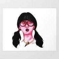 Rose Redux Art Print