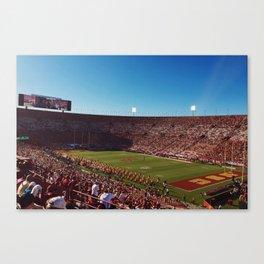 USC Coliseum Canvas Print