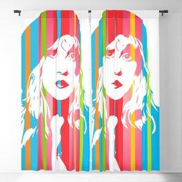 Stevie Nicks | Pop Art Blackout Curtain