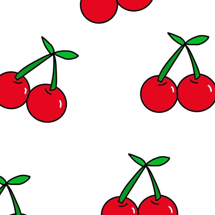 Cherries 1 (on white) Leggings