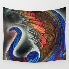Beautiul Swan Wall Tapestry