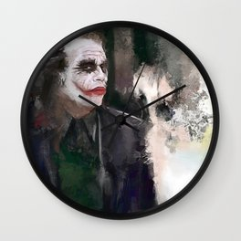 The Joker - Why So Serious Wall Clock