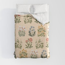 Wild Flowers ~ vol4. ~ light  Duvet Cover