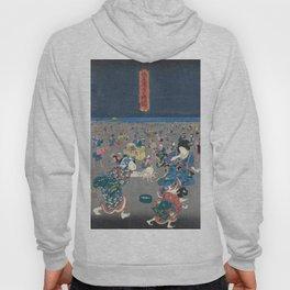 Utagawa Kunisada  Japanese Woodblock Print Hoody