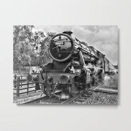Stanier 48624 mono, landscape Metal Print