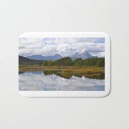 Grand Tetons, Wyoming Bath Mat