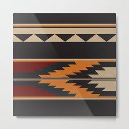 American Native Pattern No. 14 Metal Print