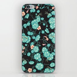 Mantises and Indian cress iPhone Skin