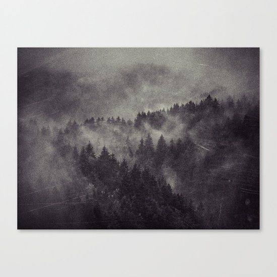 Excuse me, I'm lost Canvas Print