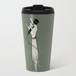Microphone Revolution Travel Mug