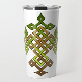 Celtic knotwork Tree Travel Mug
