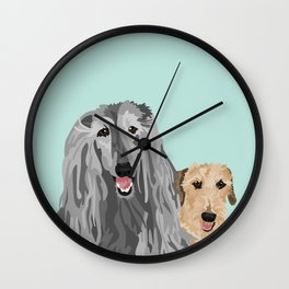 Zia and Vivienne Wall Clock