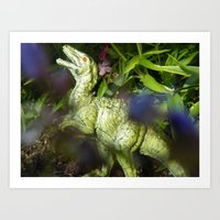 jurassic park Art Prints featuring Jurassic Park by rosscaughersphotography