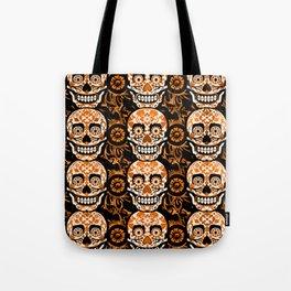 Halloween Calaveras Tote Bag