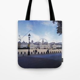 Whitehall horse guards. Tote Bag