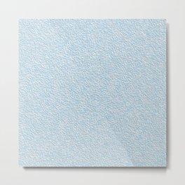 Blue plastering textures Metal Print