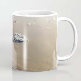 Dust and Clouds Over Sahara Desert from Earth's Orbit Satellite Photograph Coffee Mug