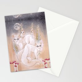 Foxgloves and Foxtails Stationery Cards