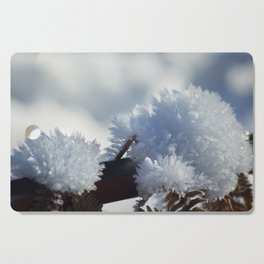 Ice Crystals Cutting Board