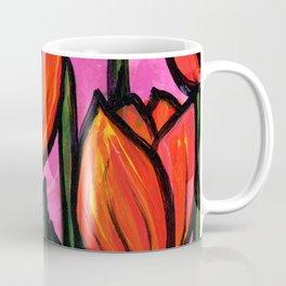 Tulips at Sunset Coffee Mug