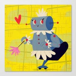 Rosie the Robot Canvas Print