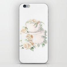 Wedding Cake iPhone & iPod Skin