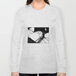 asc 488 - Les mains chaudes (Until his hands burn) Long Sleeve T-shirt