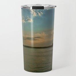 Smith Mountain Sunset. Travel Mug