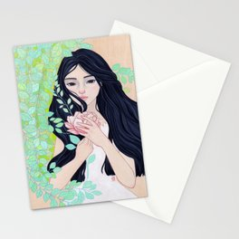 Waiting In the Spring Stationery Cards