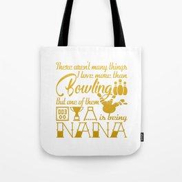Bowling Nana Tote Bag