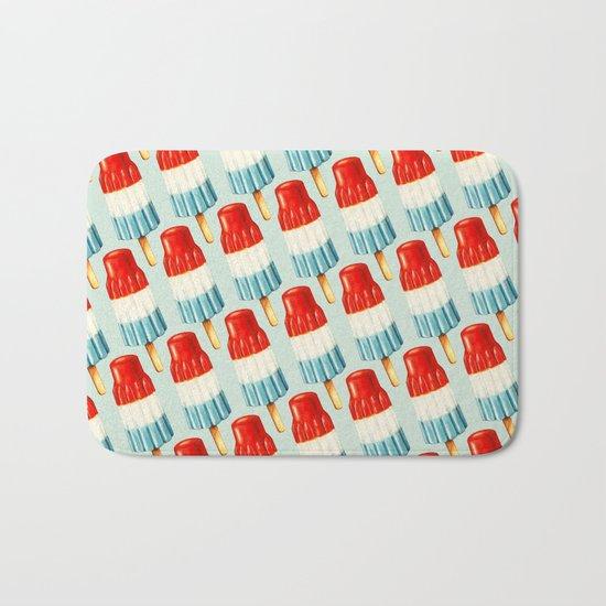 Bomb Pop Pattern Bath Mat