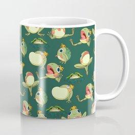 FROOOOOOOOOOOOWG PATTERN dark green Coffee Mug