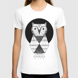 Geometric Owl T-shirt