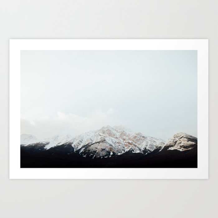 Winter Getaway Art Print