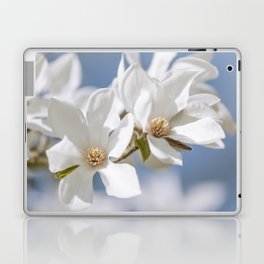 White Magnolia Laptop & iPad Skin