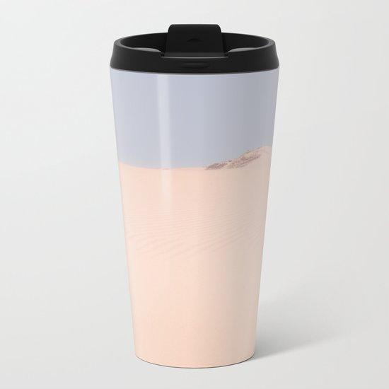 Sand Dune Metal Travel Mug