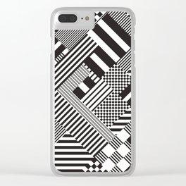Tartan-Vichy trend Clear iPhone Case