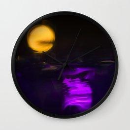 magic moon Wall Clock