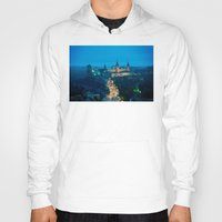 ukraine Hoodies featuring Kamianets-Podilskyi Castle (Ukraine) by Limitless Design