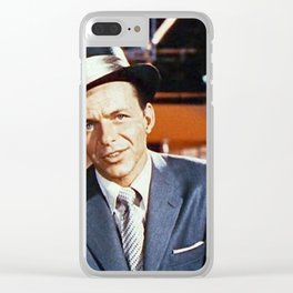 Frank Sinatra Clear iPhone Case